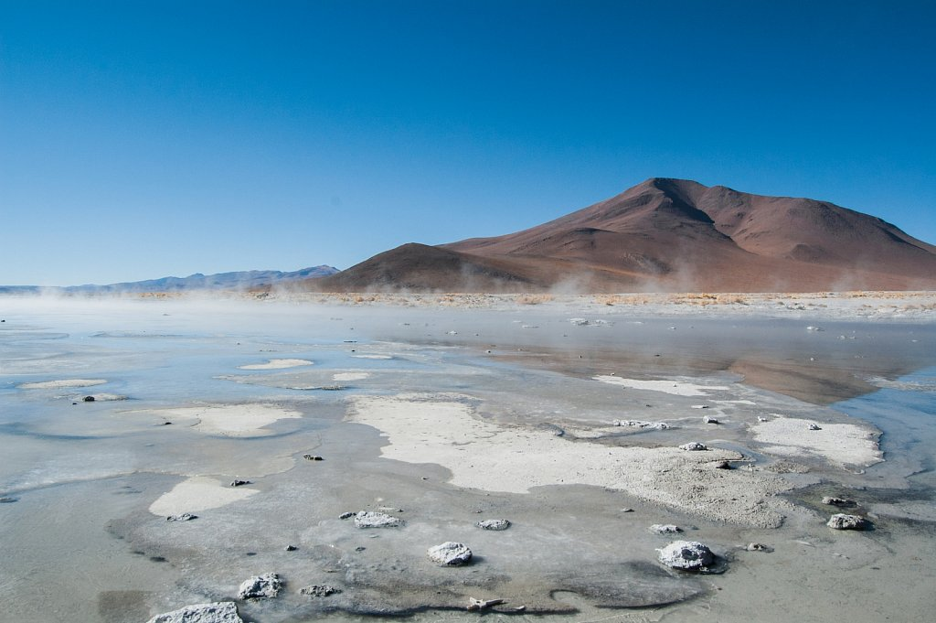 Bolivian Thermal Lakes